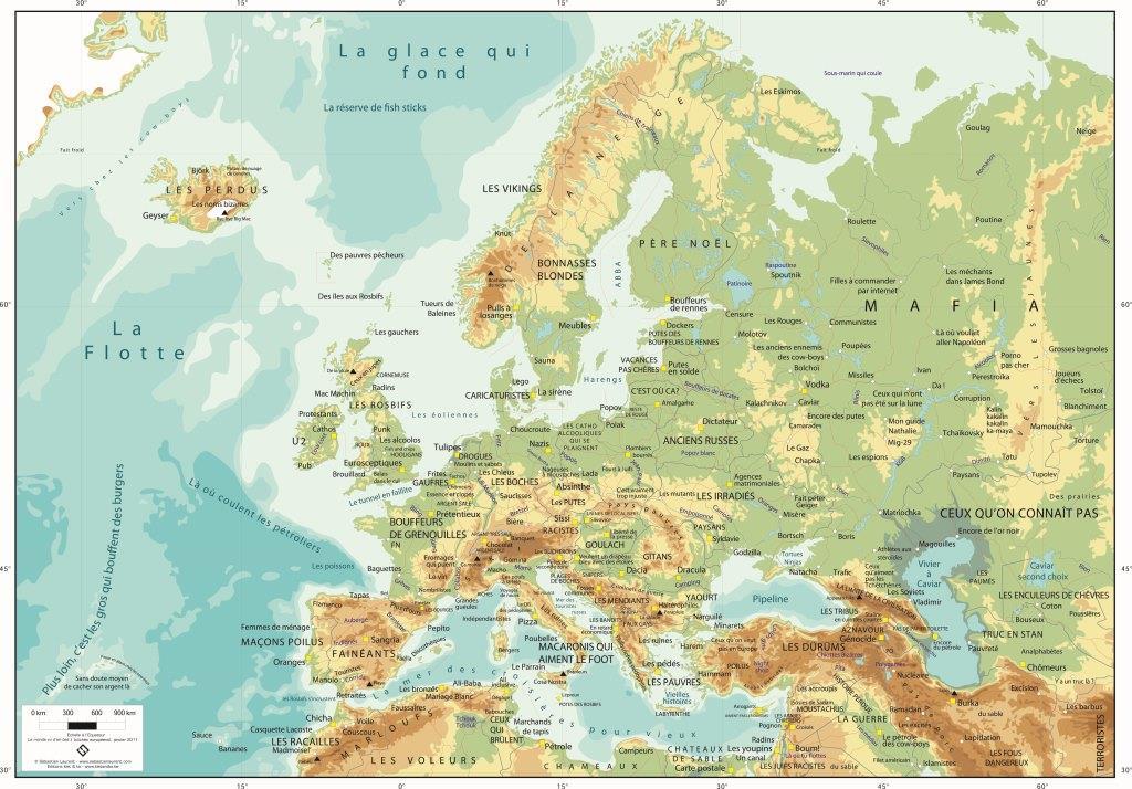 Europe vue d